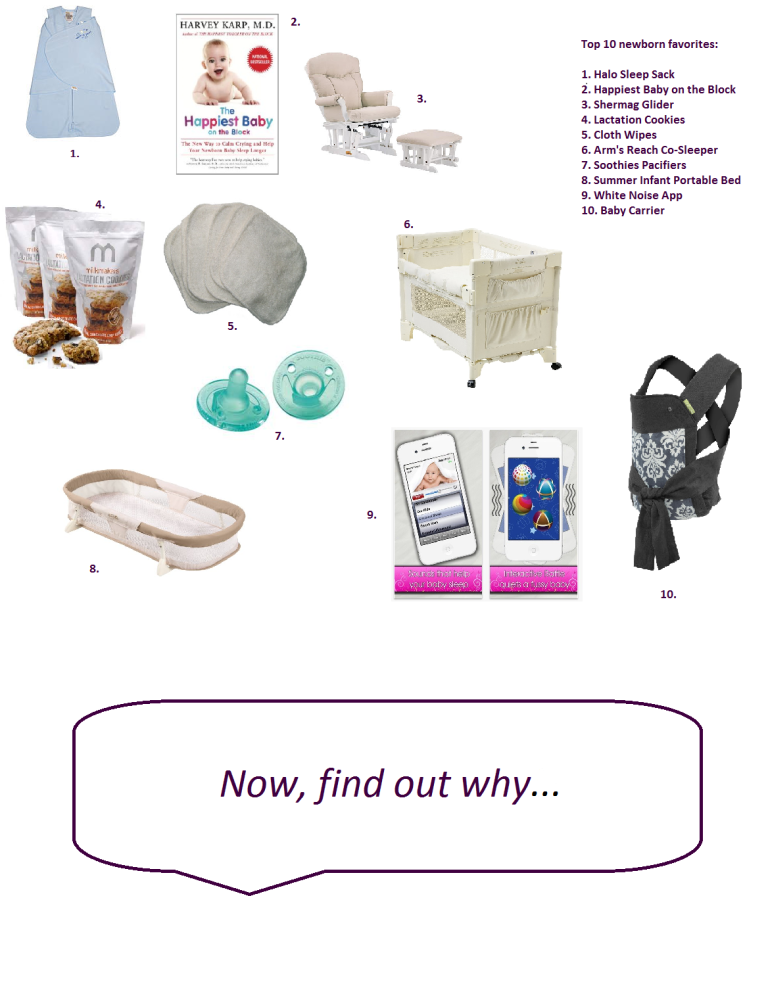 Our Top 10 Newborn Essentials